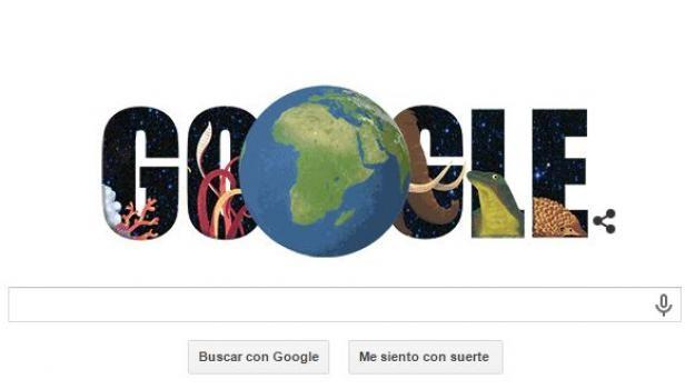 Google conmemora el Día de la Tierra de forma peculiar