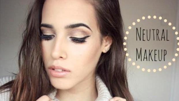 Maquillaje neutral, tutorial para maquillar paso a paso