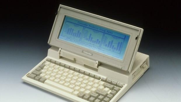 La primera computadora portátil de Toshiba cumple 30 años