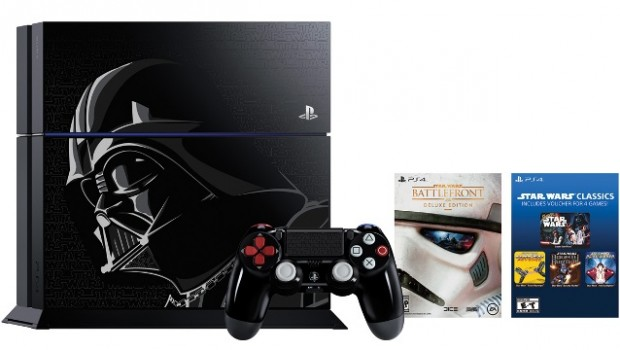 Anuncian PS4 edición Darth Vader de Star Wars