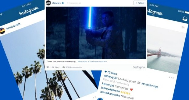 Adiós al formato cuadrado en Instagram