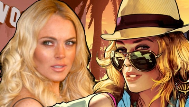 Lindsay Lohan aventaja a los creadores de Grand Theft Auto V