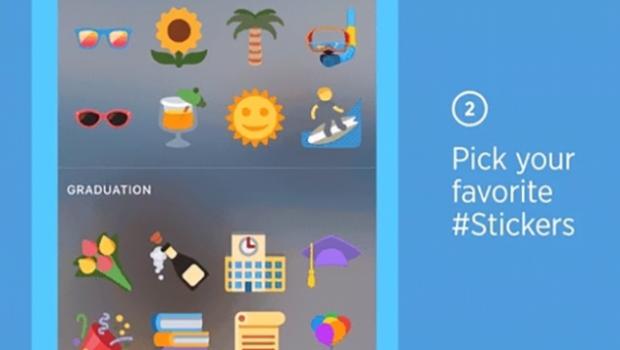 Twitter tendrá stickers parecidos a los de Snapchat