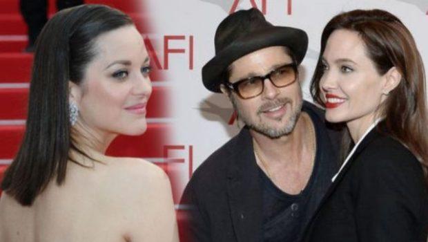 Marion Cotillard  puede ser la causa de divorcio entre Angelina Jolie y Brad Pitt
