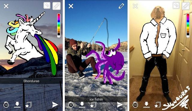 WhatsApp copia funciones de Snapchat 2