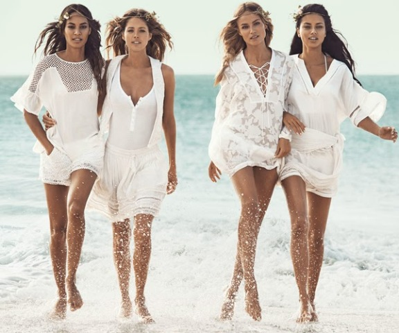 moda verano playa vestido blanco