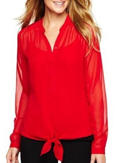Cómo mejorar la autoestima con la ropa rojo