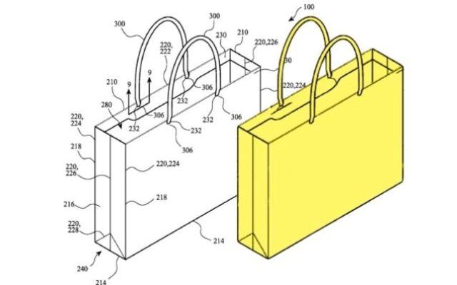 Apple patentó una bolsa de papel 1